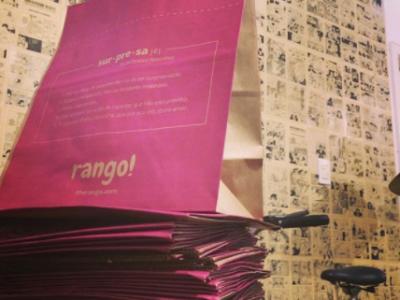 Rango!: delivery surpresa promete economizar seu tempo de vida