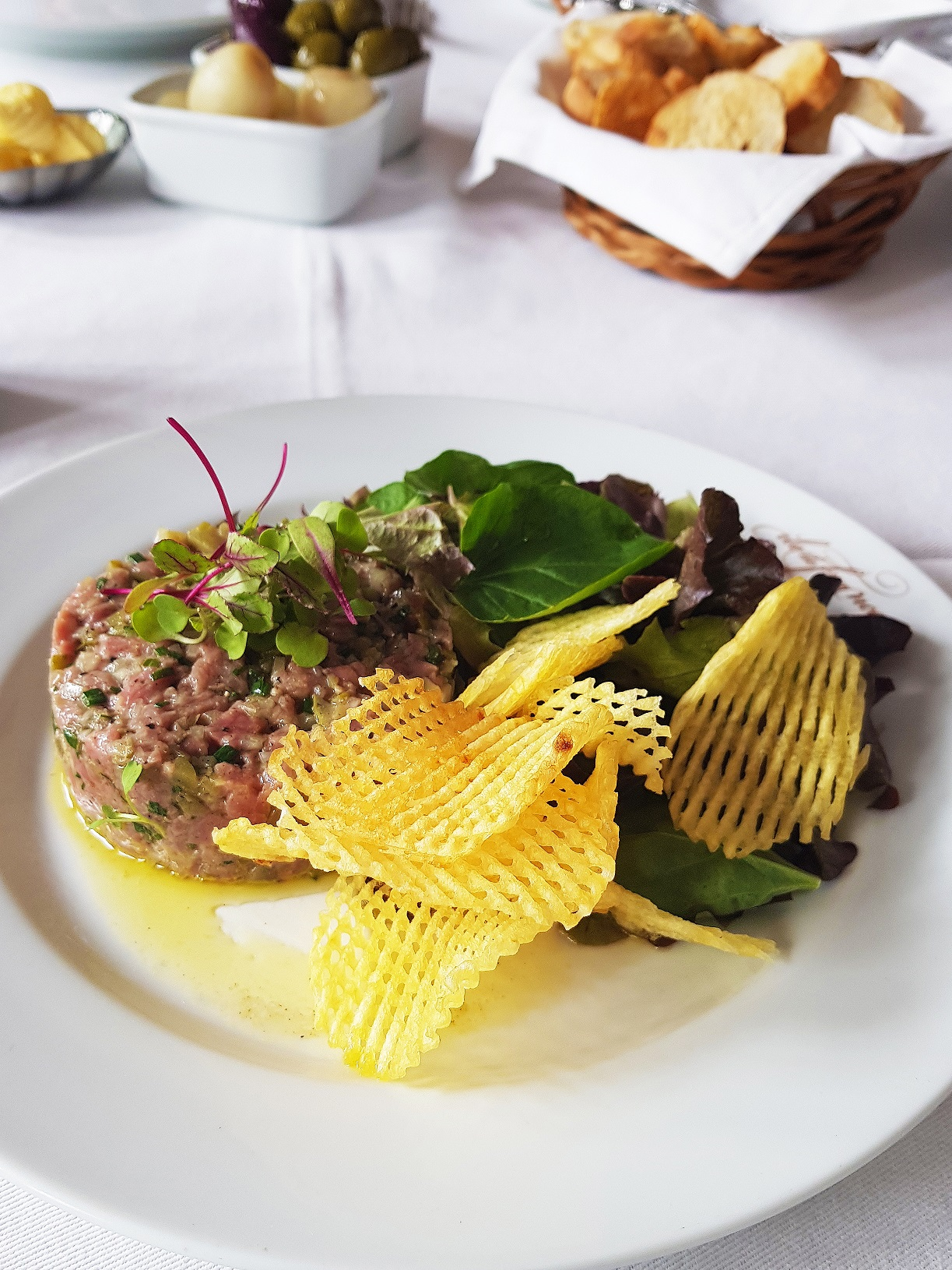 Steak Tartare do Ile de France