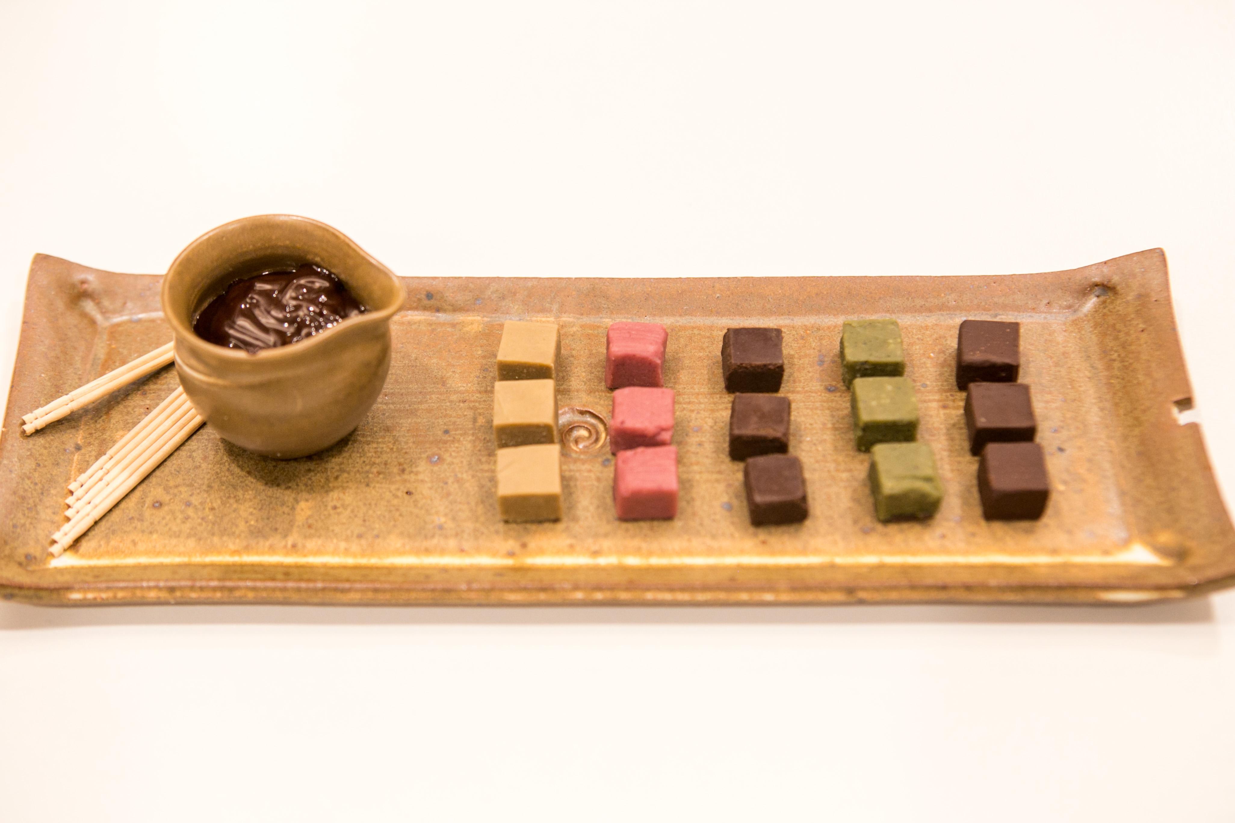 Chocolates artenasais da Flè Cacau & Oliva, vencedor do 1º Desafio Gastronômico de Startups