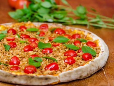 Pizzas veganas são a nova aposta da Lupertine Pizzaria