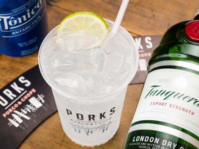 Porks inaugura nova unidade com chopp, gin tônica e quentão grátis