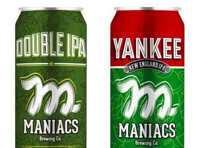 Novas IPAs Maniacs: confira os latões de 473 ml da Yankee e Double IPA