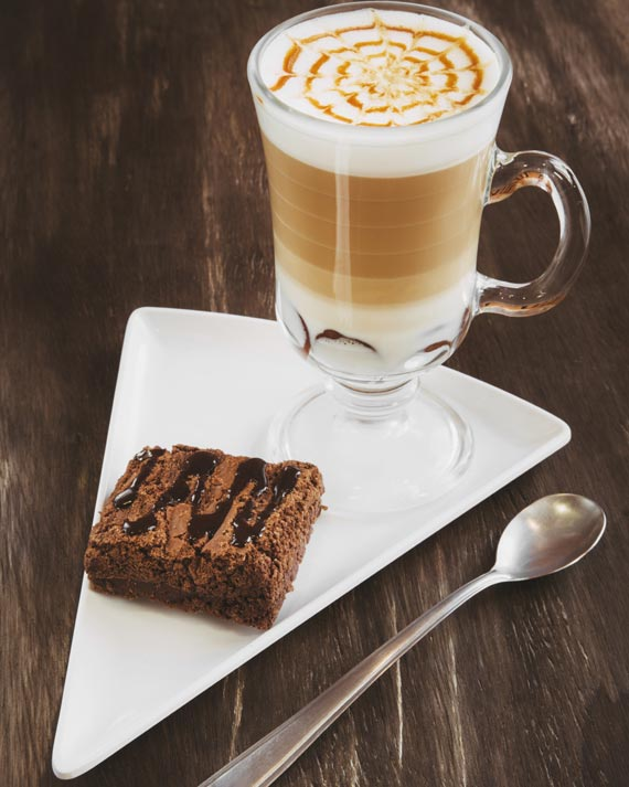 Mocha + Brownie do Smile Town Café para o festival Coffee Week Curitiba 2018