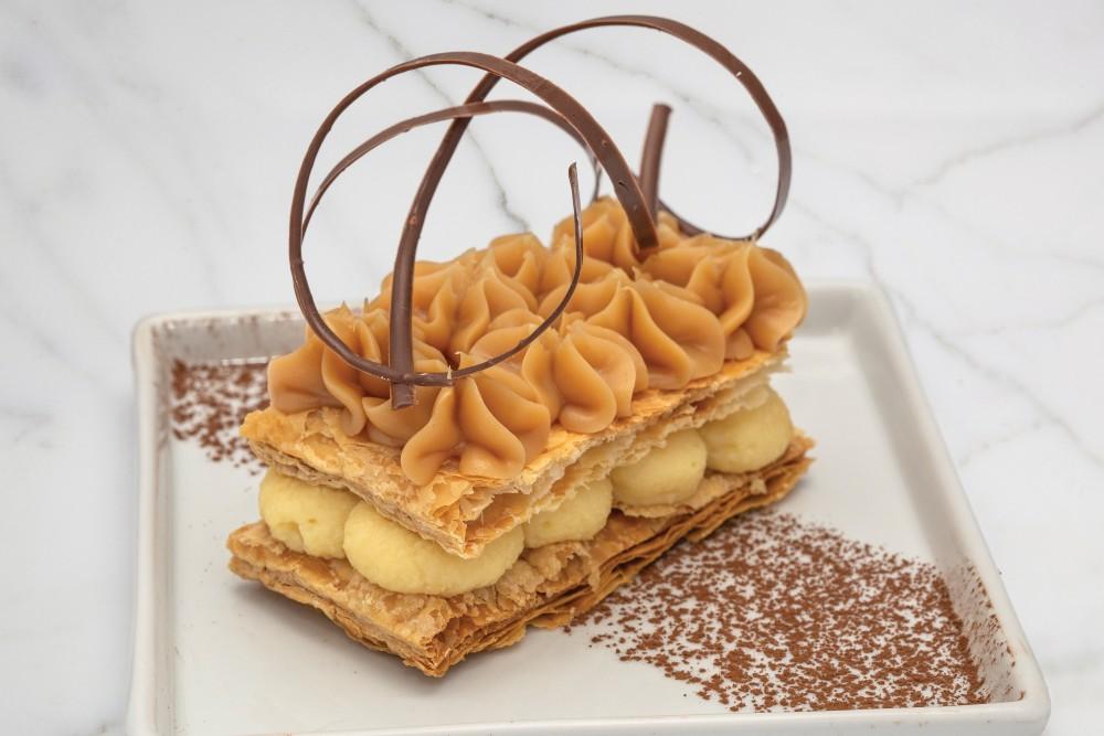 Sobremesa da Grué Chocolateria para a Chocolate Week Curitiba