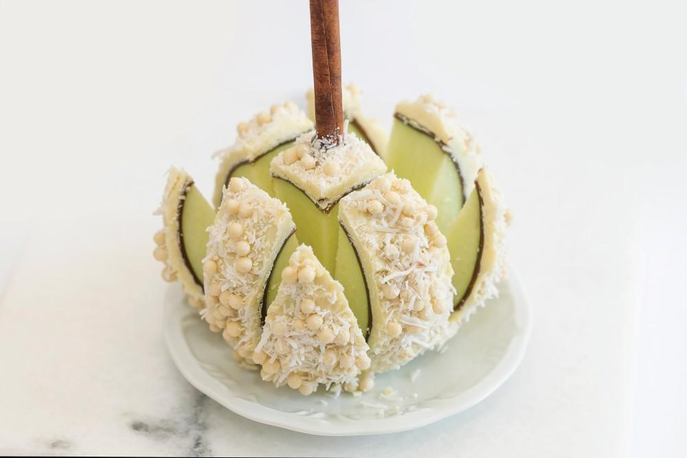 Sobremesa da Mary Ann Apple Factory para a Chocolate Week Curitiba