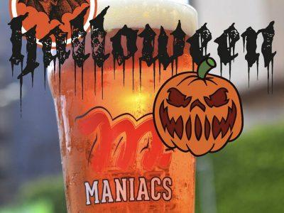 Dois eventos movimentam a cervejaria Maniacs nessa quarta-feira de Halloween
