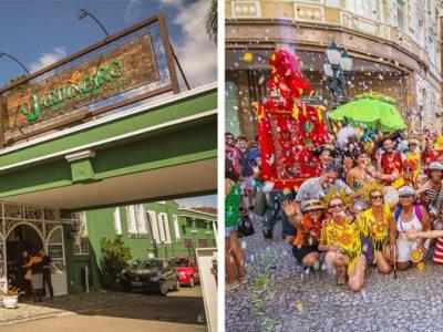 Lançamento Domingo no Deck: Garibaldis e Sacis realiza pré-carnaval no restaurante O Jardineiro
