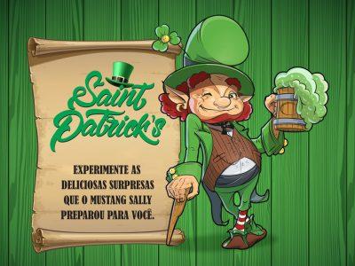 Programação especial Saint Patrick´s: Mustang Sally traz pratos temáticos e grande festa na unidade Batel