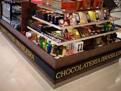 Quiosque da Chocolateria Brasileira é inaugurado no Shopping Estação