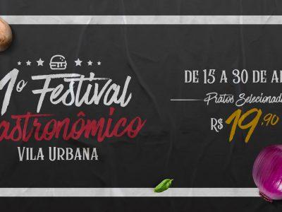 1º Festival Gastronômico da Vila Urbana em Curitiba