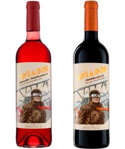 o-jardineiro-wine-bar-vinhos-aviador-rose-tinto-divulgação