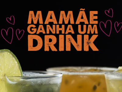 Celebre o Dia das Mães com drink cortesia para elas no Mustang Sally