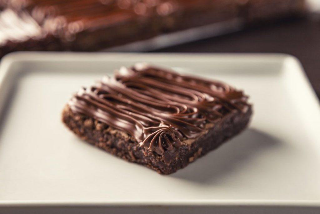 Brownie de Nutella do Bendito Cookies