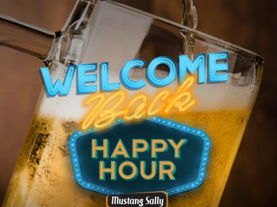 Welcome back! Happy Hour Mustang Sally está de volta também nos shoppings Mueller e Palladium