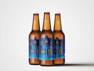 Aprecie SEM moderação: cervejaria ØL Beer lança Hop Lager sem álcool